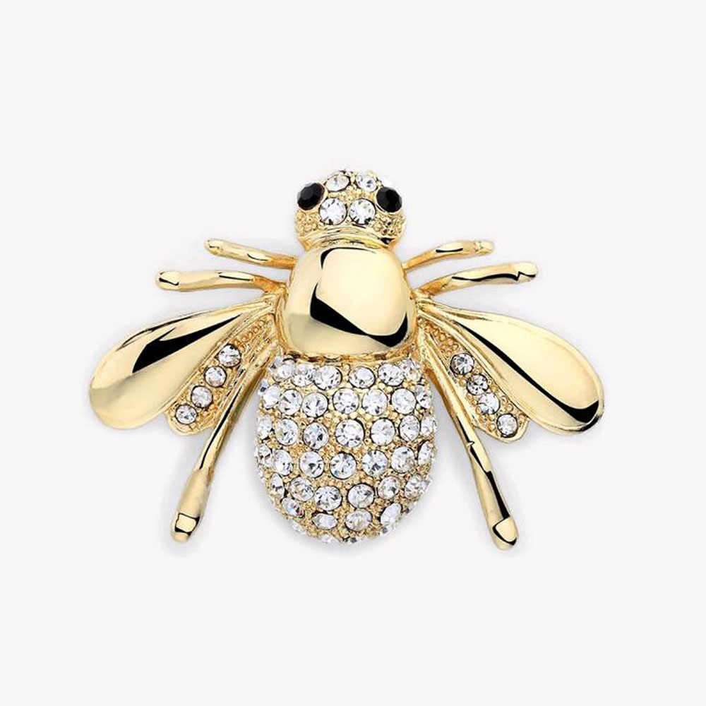 2017 New Factory Direct Hot Selling Cute Animal Bee Brooch For Women In Europe And America High-grade brooch