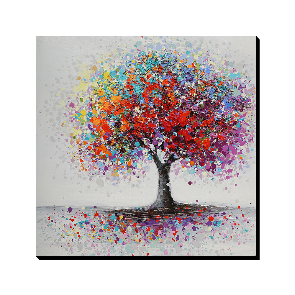 Aliexpress.com : Buy AONBAT ART 100% Hand Painted Canvas