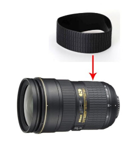 NEUE Objektiv Zoom Gummiring Gummi Griff Gummi Für Nikon AF-S 24-70mm 24-70mm f /2,8g ED Reparatur Teil