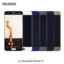 цена на Original LCD Display For Huawei Honor 9 Touch Screen Panel Digitizer Assembly Replacement No Frame 5.15 Inch 100% Tested