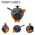 Непоседа Куб 1.0 2.0 Маленькие Виниловые Игрушки Стол осуществлять пальцем И Ослабить Давление Merry Christmas Gift