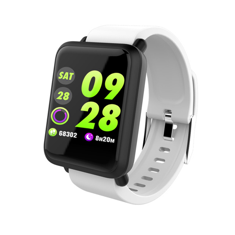 Men's Watches Top Brand Silicone & Mesh Smart Watch E28 Ip67 Waterproof Heart Rate Monitor Blood Pressure Men Women Smartwatch For Ios Android Large Assortment