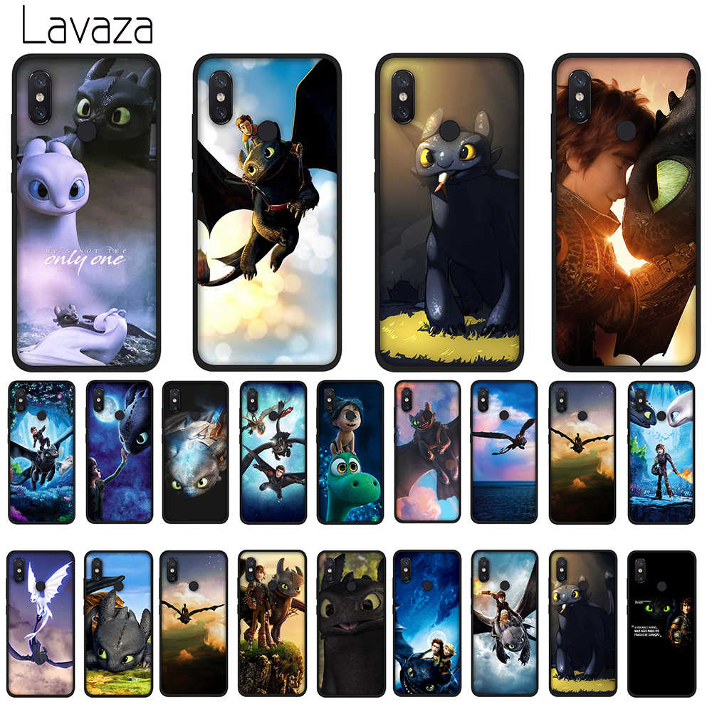 Lavaza Sdentato How To Train Your Dragon Caso Molle di Tpu per Huawei Y7 Prime Y9 Y6 2018 Nova 3 3i per L'onore 7A 8X 8C 8 9 10 Lite