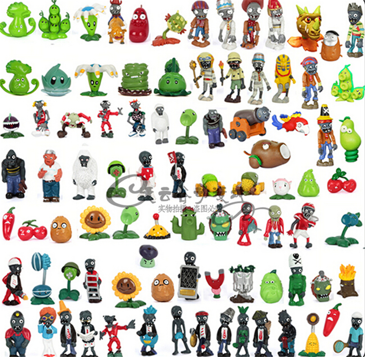 Free ems 100pcs plants vs zombies figures toy plants vs zombies 2 free ems 100pcs plants vs zombies figures toy plants vs zombies 2 pvc toy set collection for children in action toy figures from toys hobbies on voltagebd Gallery