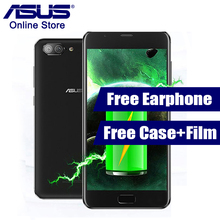 2017 Newest ASUS Zenfone 4  Plus Max ZC550TL X015D 3GB 32GB Mobile Phone 5000mAh Battery 5.5 Inch Android 7.0 MT6750 3 Cameras