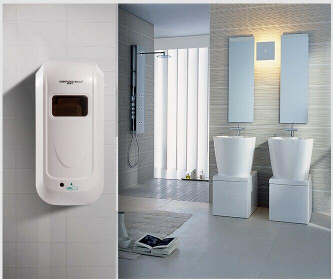 Distributeur automatique de savon de salle de bains fixé au mur de 1000 ml, distributeur liquide de savon, accessoires de salle de bains, produits publics