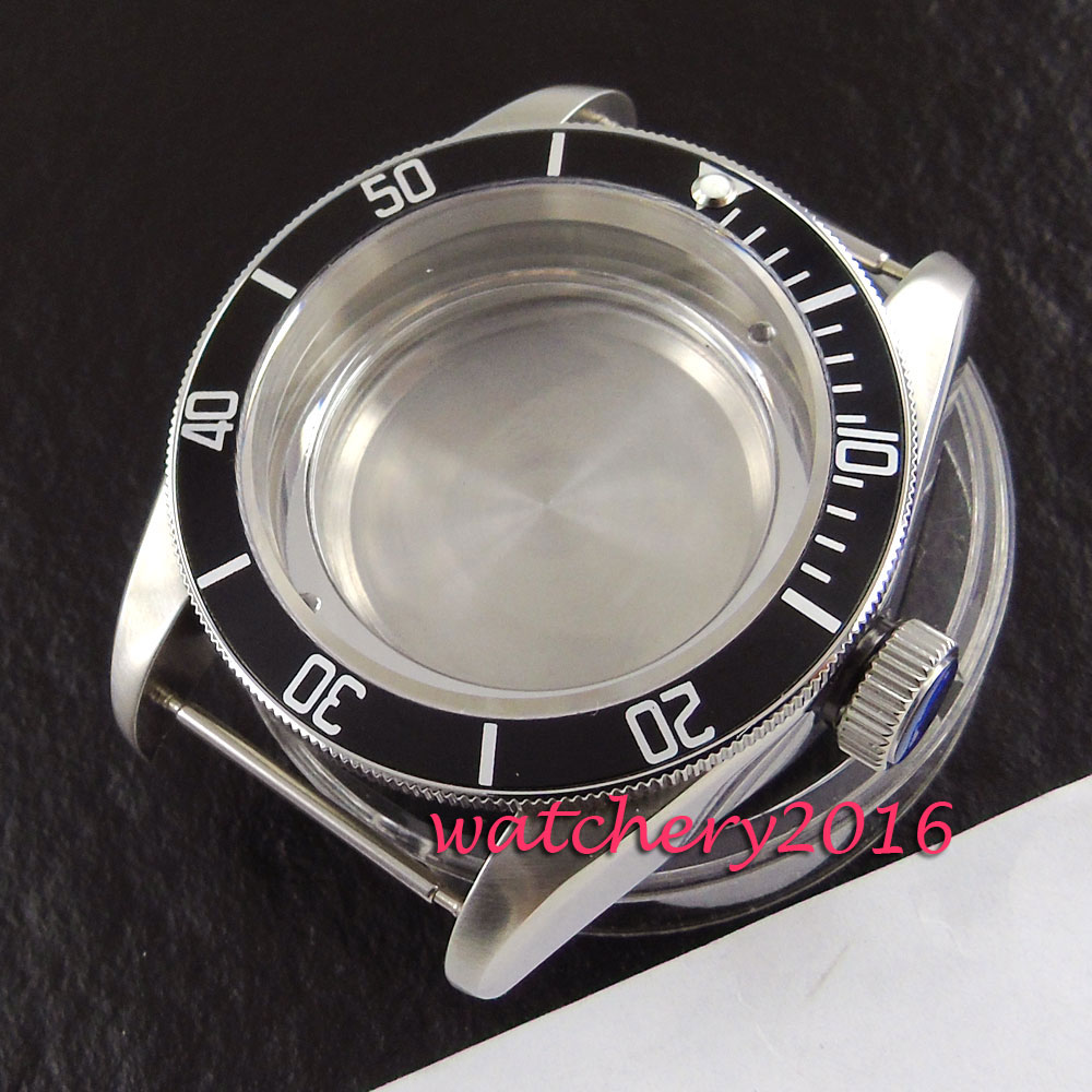 41mm corguet sapphire stainless steel case fit eta 2836 miyota 8215 8205 automatic watch case41mm corguet sapphire stainless steel case fit eta 2836 miyota 8215 8205 automatic watch case