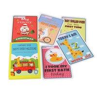 Marco Cartões Novos Do Bebê do bebê/Baby Shower Gift 32 Cartões Como Natal e Ano Novo. Presente perfeito para o Bebê apresenta.