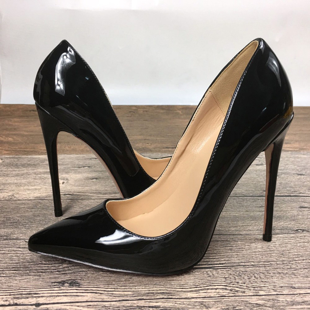 sale outlet store outlet excellent New we S high heels shoes exclusive patent brand PU leather women 8cm 10cm 12cm female high heels cheap sale genuine eastbay online qlt5zJfW8M