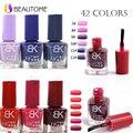 Fast dry Stamp polish 1 Bottle/LOT Nail Polish & stamp polish nail BK Series 42 colors Optional 8ml More engaging 4 Seasons
