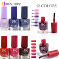 Sello De uñas de secado rápido 1 Botellas/LOT Nail Polish & sello polaco uñas BK Serie 42 colores Opcionales 8 ml Más atractivo 4 Estaciones