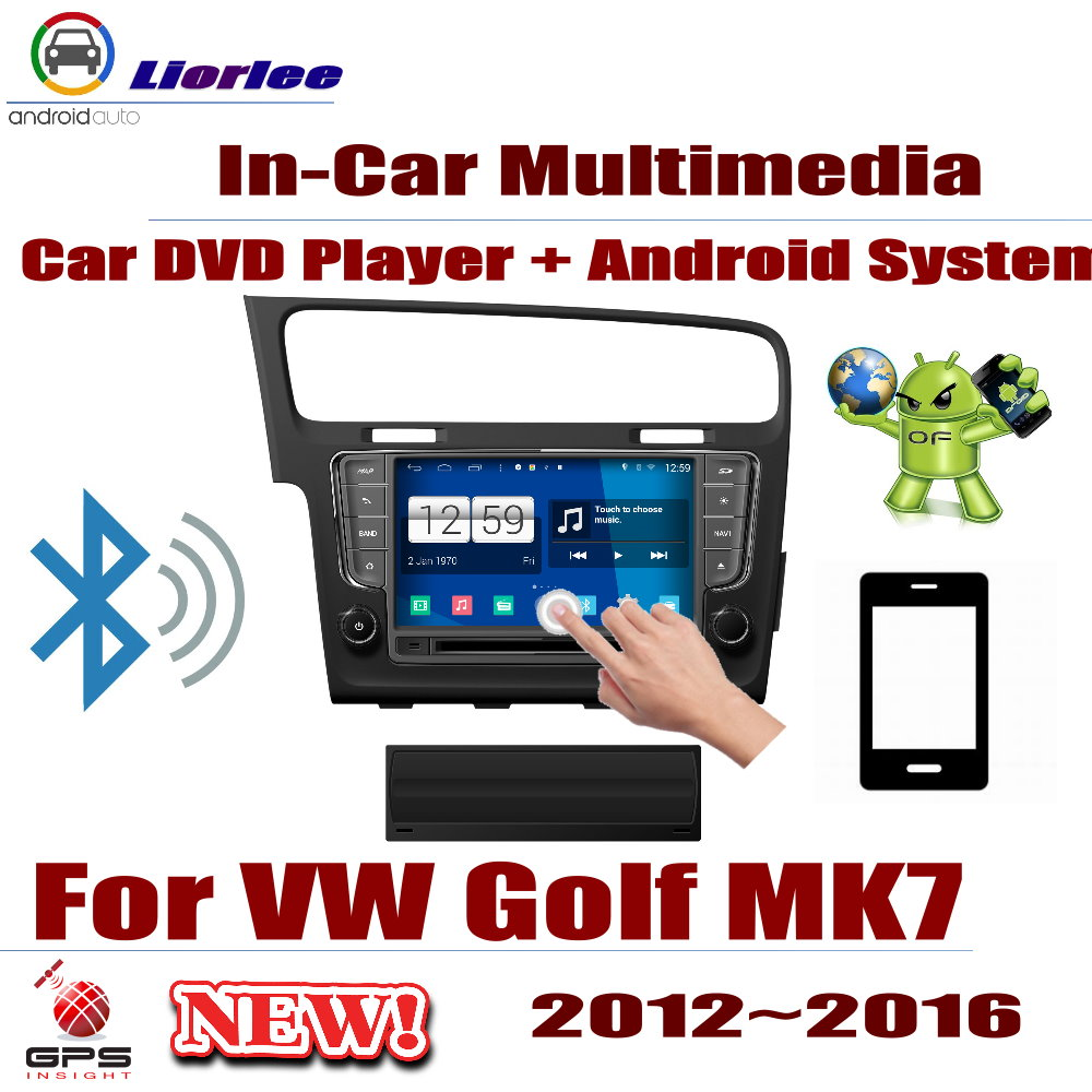 US $390 0 35% OFF|For Volkswagen VW Golf MK7 2012~2016 Car Android Player  DVD GPS Navigation System HD Screen Radio Stereo Integrated Multimedia-in