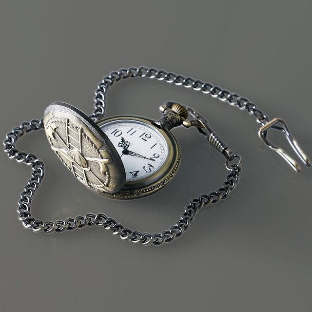 Thanksgiving Gift Pocket Watch Fire Firemen Necklace Pendant Men Quartz Watches 30mm Chain Fob Watch Dropshipping Free Shipping