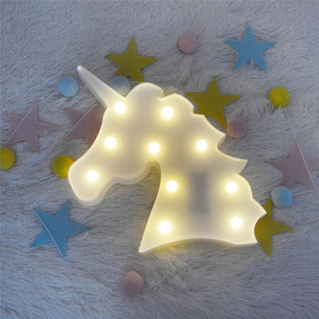 Aliexpress.com : Buy Novelty 3D LED Unicorn Light Toys Lamp ...