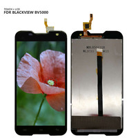 For Blackview BV5000 Touch Screen Digitizer LCD Display Assembly Black 5 0 Free Shipping Tools