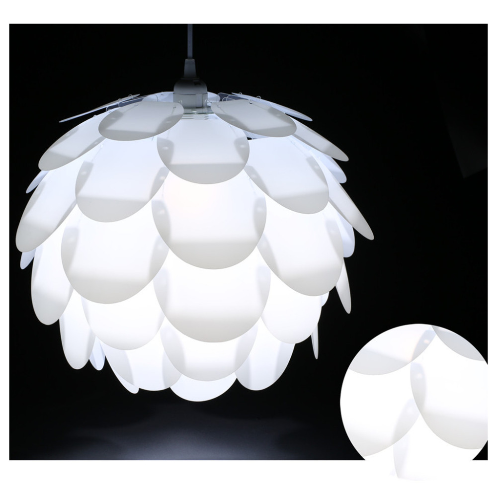 Iq Pendant Light Diy Artichoke Pinecone Shape Puzzle Lampshade Cover