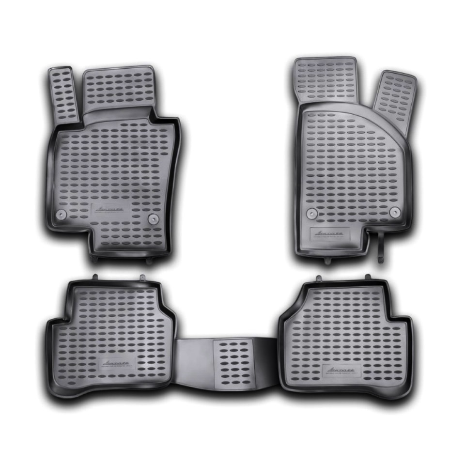 Floor mats for Volkswagen Passat B7 2011 2012 2013 2014 2015 Element NLC5134210K все цены