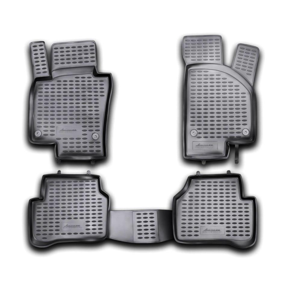 Floor mats for Volkswagen Passat B7 2011 2012 2013 2014 2015 Element NLC5134210K 3d floor mats for renault duster 2wd 2011 2012 2013 2014 element nlc3d4129210kh