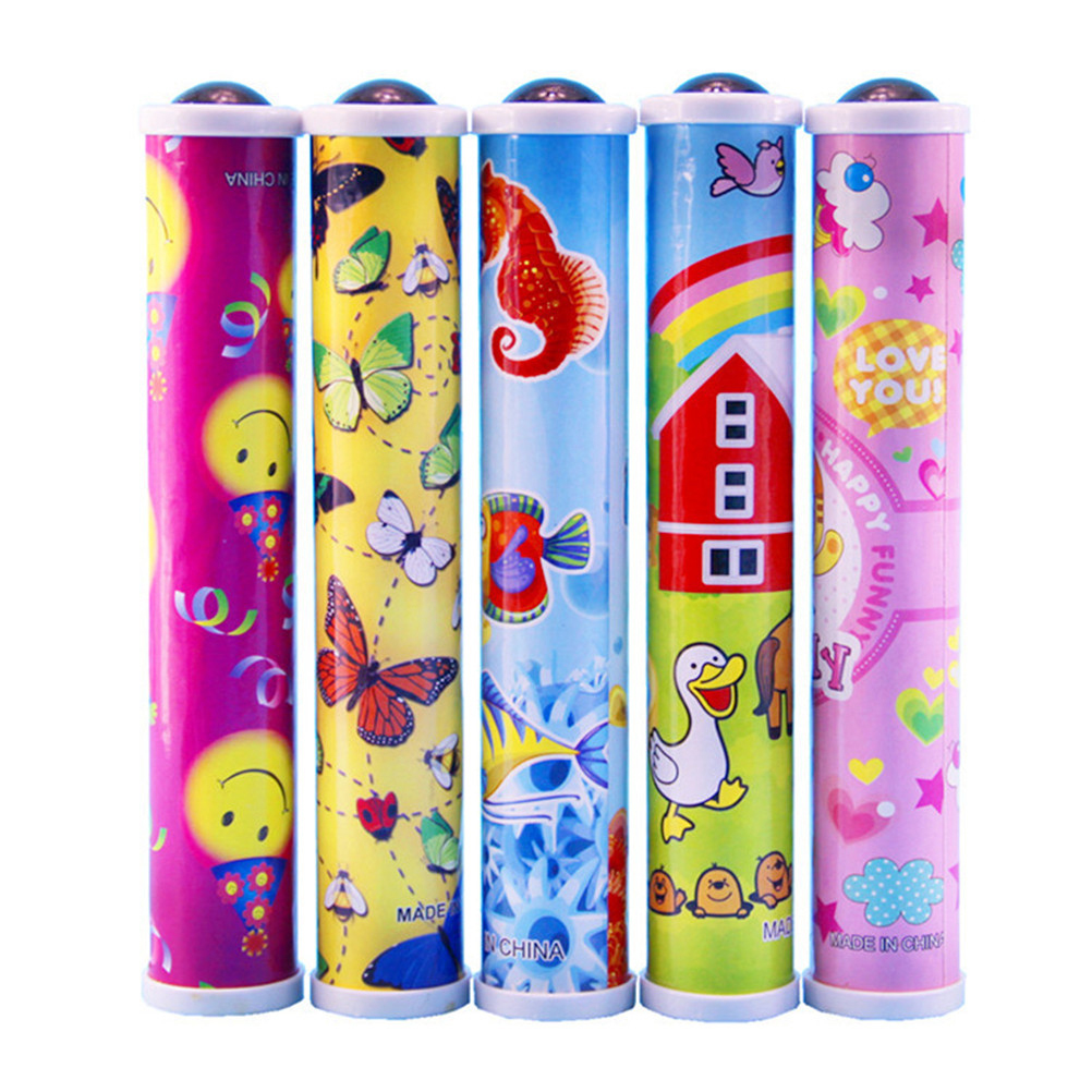 1Pc Educational Toys Magic Kaleidoscopes Colorful World Best Children Gift Children Best Toys image