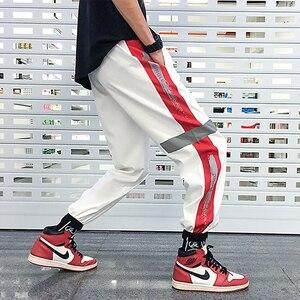 Image 4 - Мужские спортивные брюки, свободные спортивные брюки в стиле хип хоп, брюки шаровары 4XL 5XL