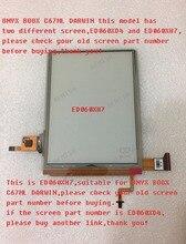 100% חדש eink LCD תצוגת מסך ED060XH7 עבור אוניקס boox דרווין C67ML ספר אלקטרוני קורא 1024*758 משלוח חינם