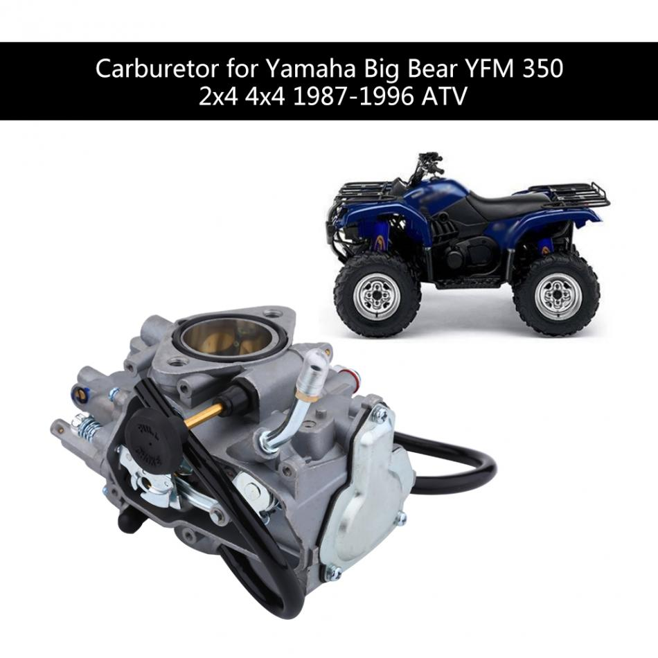 ATV Carburetor Carb for font b Yamaha b font Big Bear YFM 350 2x4 font b 100 [ 2001 yamaha big bear 400 repair manual ] download Basic Electrical Wiring Diagrams at crackthecode.co