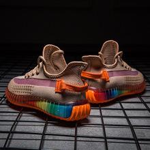 Male Man Shoes Men Sneakers Male Rainbow Coconut Shoe Shoes Tenis Masculino Adulto Zapatos De Hombre Trainers Scarpe Loafers