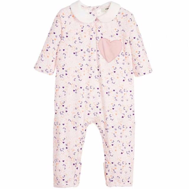 Nova Outono infantil romper terno Amor remendo bordado letras impressão Jumpsuits Do Bebê subir roupas por atacado
