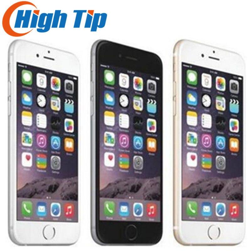 "Unlocked Original Apple iPhone 6 Plus LTE 5.5"" IPS 8MP Dual Core Mobile Phone GSM 16GB 64GB 128GB ROM iOS Used Cellp hone"
