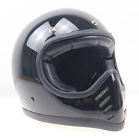 Vintage Fox Racing Motocross Helmet Off Road Professional Downhill Motorcycle Helmets Retro Moto Casque Casco Capacetes