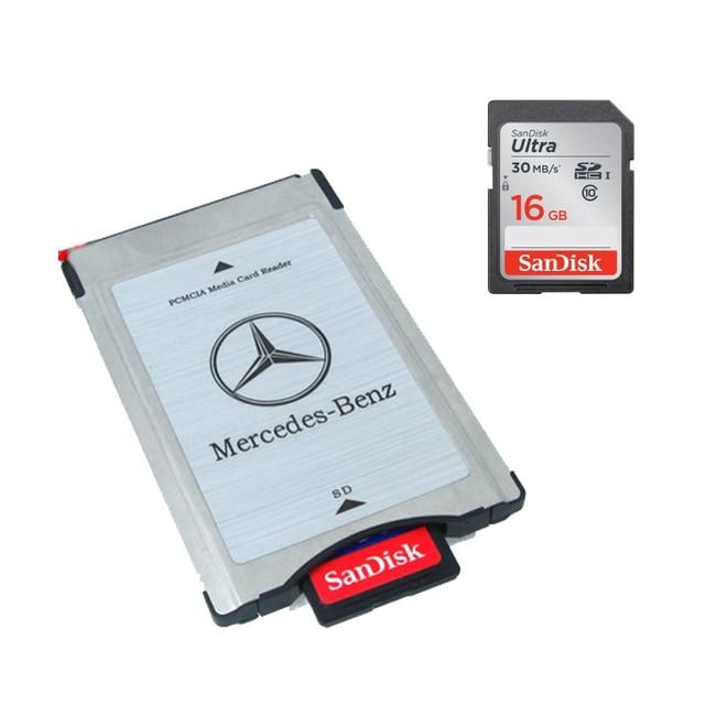 New mercedes benz pcmcia multi card reader adapter for Mercedes benz card