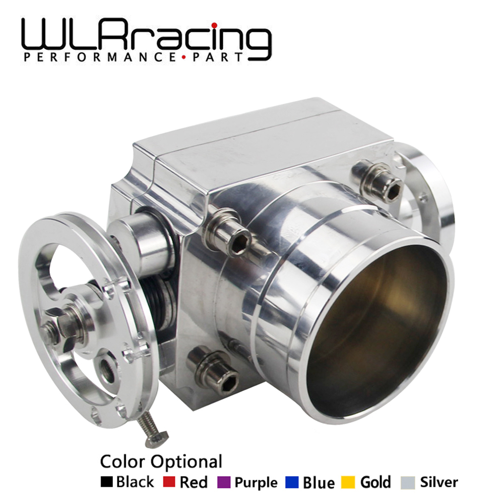 WLR RACING - NEW THROTTLE BODY 80MM THROTTLE BODY PERFORMANCE INTAKE MANIFOLD BILLET ALUMINUM HIGH FLOW WLR6980 pqy racing free shipping new 90mm throttle body performance intake manifold billet aluminum high flow pqy6990