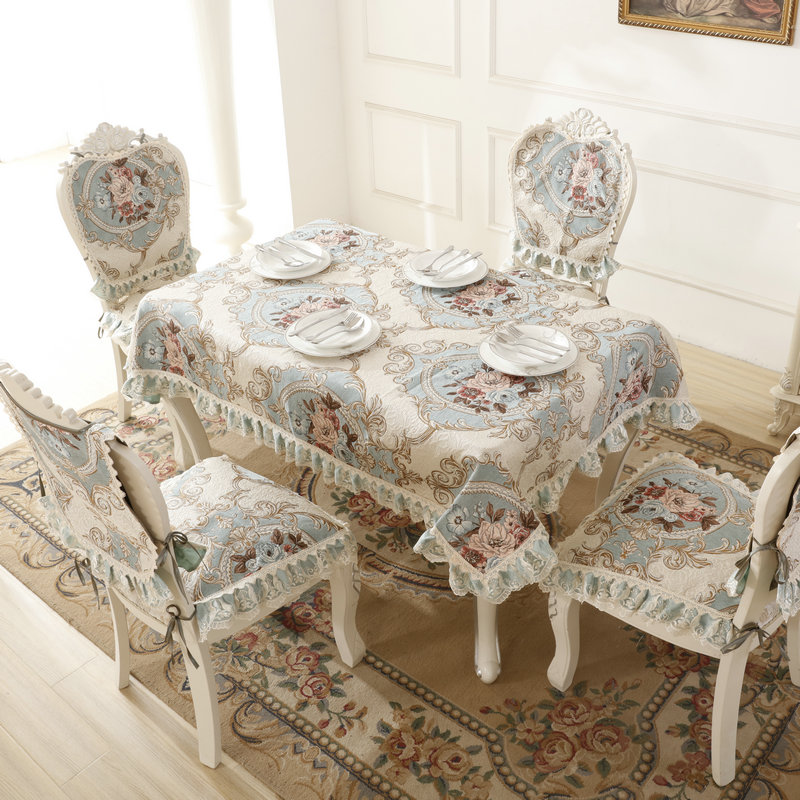 New arrival High quality table cloth Lace Tablecloth Dining Table Cover For Kitchen Home Decor free