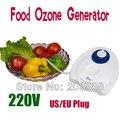220 V 110 V Gerador de Ozônio Food Água Ar Ozonizador Esterilizador de Ar Frutas Esterilizador Remove Gases Nocivos do Cuidado Da Pele