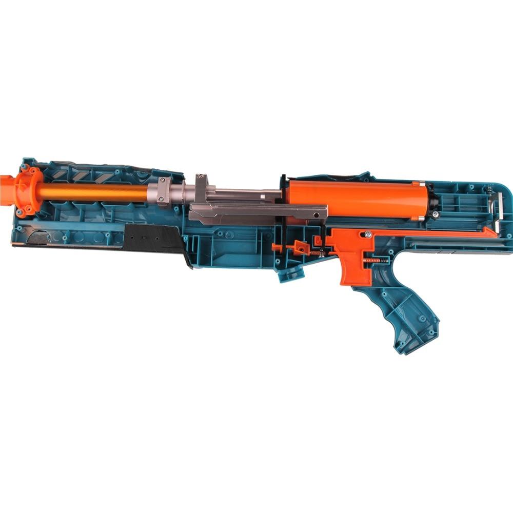 Worker Aluminum Alloy Slide Block Sliding Framework for Nerf Zombie Strike ZED Squad Longshot CS-12 N-Strike Elite Longshot