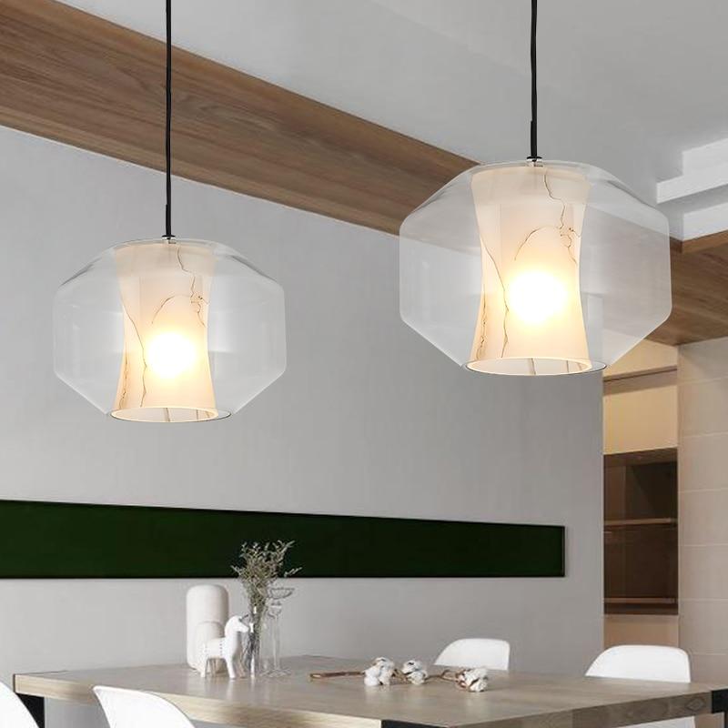 french lighting designers. French Designer Imitation Marble Glass Pendant Lights Modern Bedroom Restaurant Bar Style Dinner Decoration Single Head Lamp ZH-in From Lighting Designers S