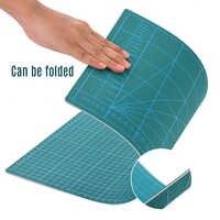Tapete para cortar A4/A3 de doble cara fácil de limpiar estera de corte rotativa autosanadora PVC antideslizante para cortar la tela Hobby juego de cuchillos artesanales