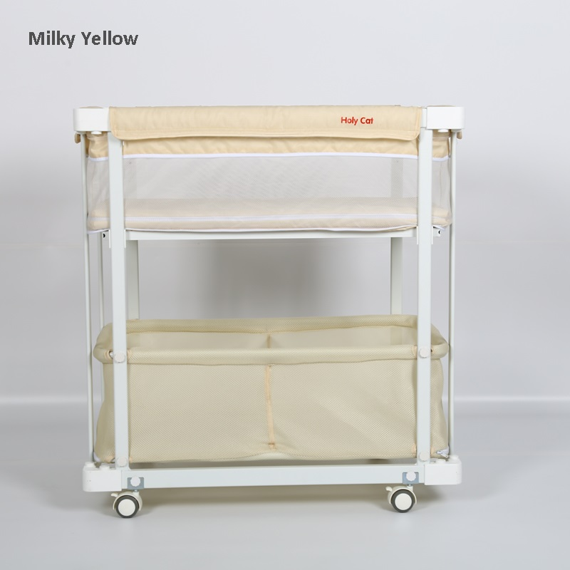 Movable Baby Changing Table Height Adjule Diaper Clothes