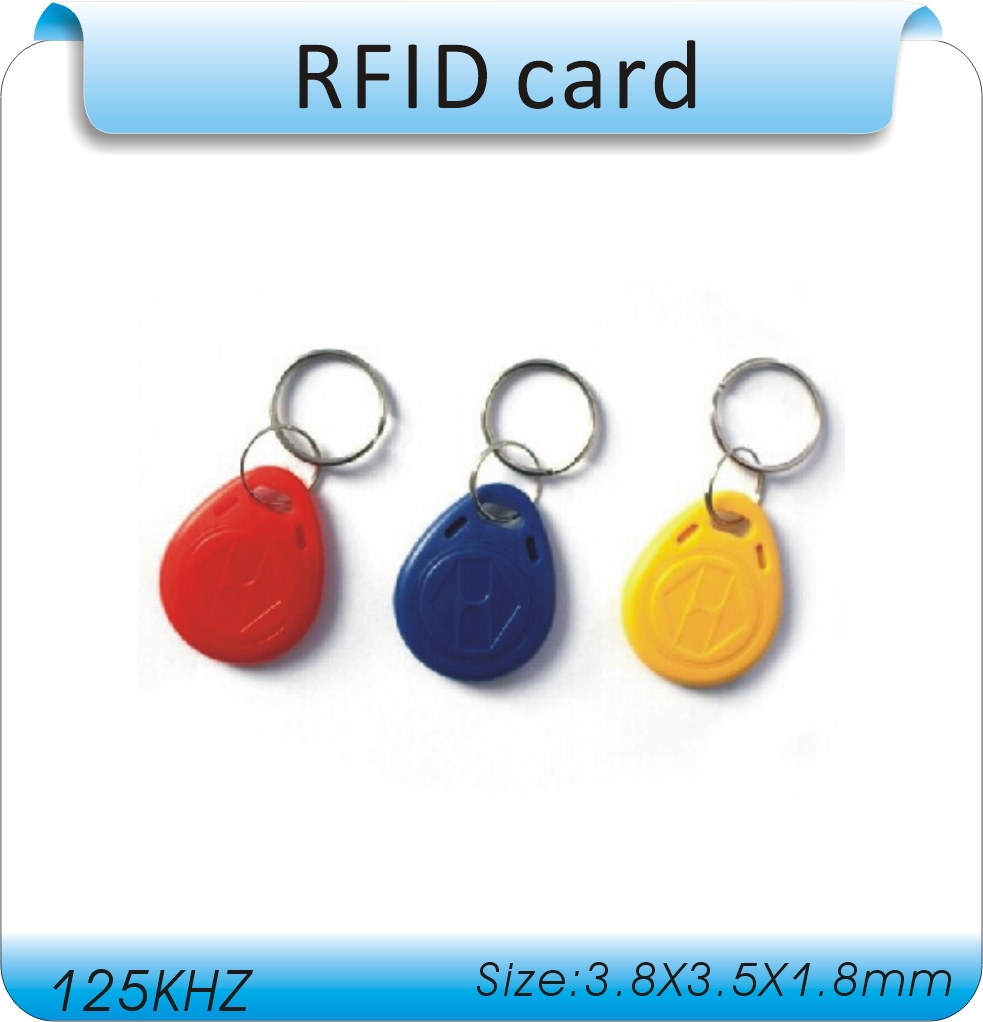 Bigset  discount 100pcs /125Khz RFID Proximity ID Card Token Tags Keyfob  for Access Control Time Attendance/10 laser code rfid contactless card proximity id card rfid iso pvc card time attendance for access control 125khz with tk4100 em4100 chip