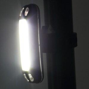 Велосипедный задний фонарь, светодиодная велосипедная перезаряжаемая Подседельный штырь, задний фонарь, безопасный предупреждающий водонепроницаемый