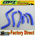 High performance silicone radiator hose FOR  Suzuki RMZ250 RMZ 250 2013-2015 2014 13 14 15 BLUE
