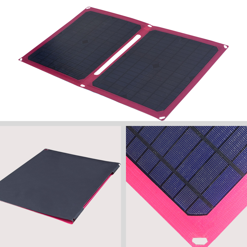 Xinpuguang 40W Solar Panel Charger Portable Solar Battery Chargers 5V 2A USB Charging for Mobile Phones Tablet 3 7V Battery etc in Solar Accessories from Consumer Electronics
