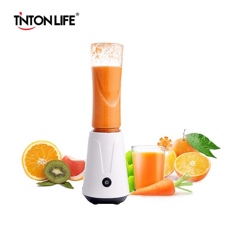 TINTON LEBEN Tragbare Elektrische Entsafter Mixer Obst Babynahrung Milchshake Mixer Fleischwolf Multifunktions Saft Maker Maschine