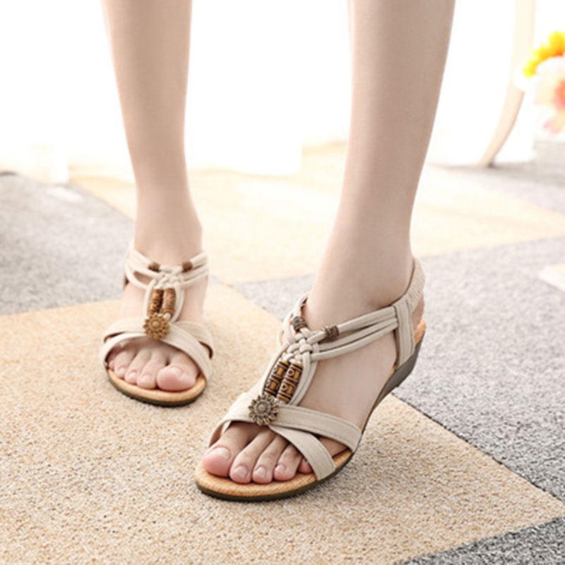 Rome beach flip flops style Women shoes sandals 2018 New Arrivals fashion Summer Fresh Wedges platform sandals JIASHA 2017 summer fashionwomen sandals summer new vintage style gladiator platform wedges shoes woman beach flip flops bohemia sandal