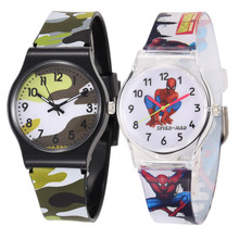 WoMaGe 50M Waterproof Cartoon Watch Quartz Wristwatch Kid