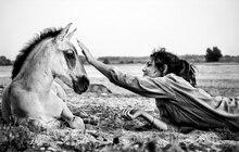 prints landscape picture prints on canvas black and white pictures portrait horses with lady photographic prints modern home decor art