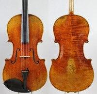 Top Oil Varnish Master Level Copy Antonio Stradivari 17 Viola All European Wood Powerful Tone EMS