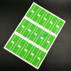Image 4 - Kabel sieciowy etykiety naklejki 84x26mm 900 sztuk 30 arkuszy A4 P kształt 6 kolorów puste wodoodporna olejoodporne Tearproof