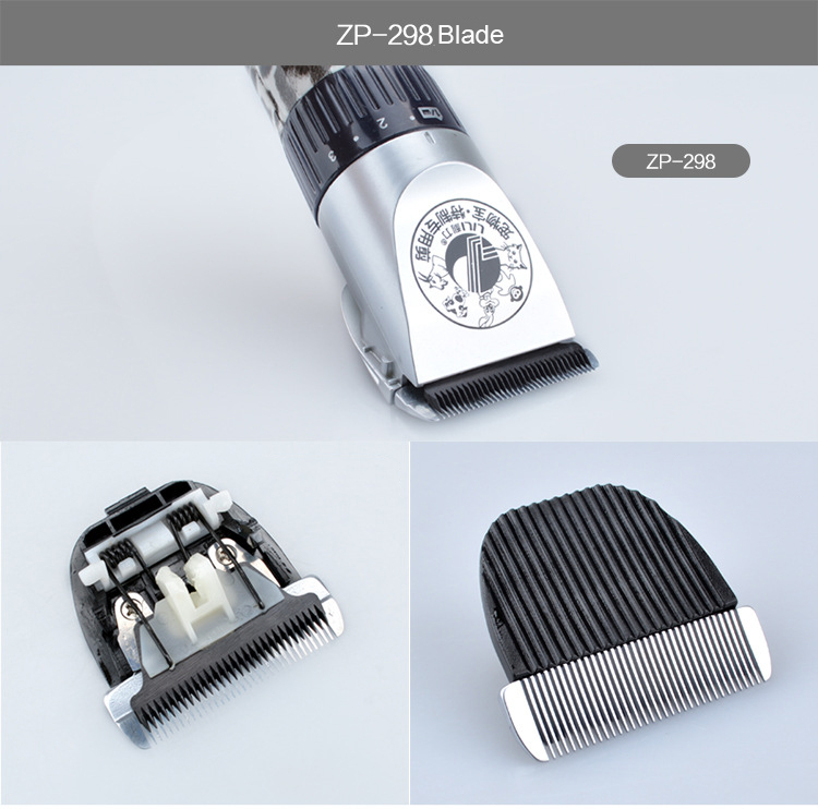 Lâmina elétrica profissional da tosquiadeira de cabelo