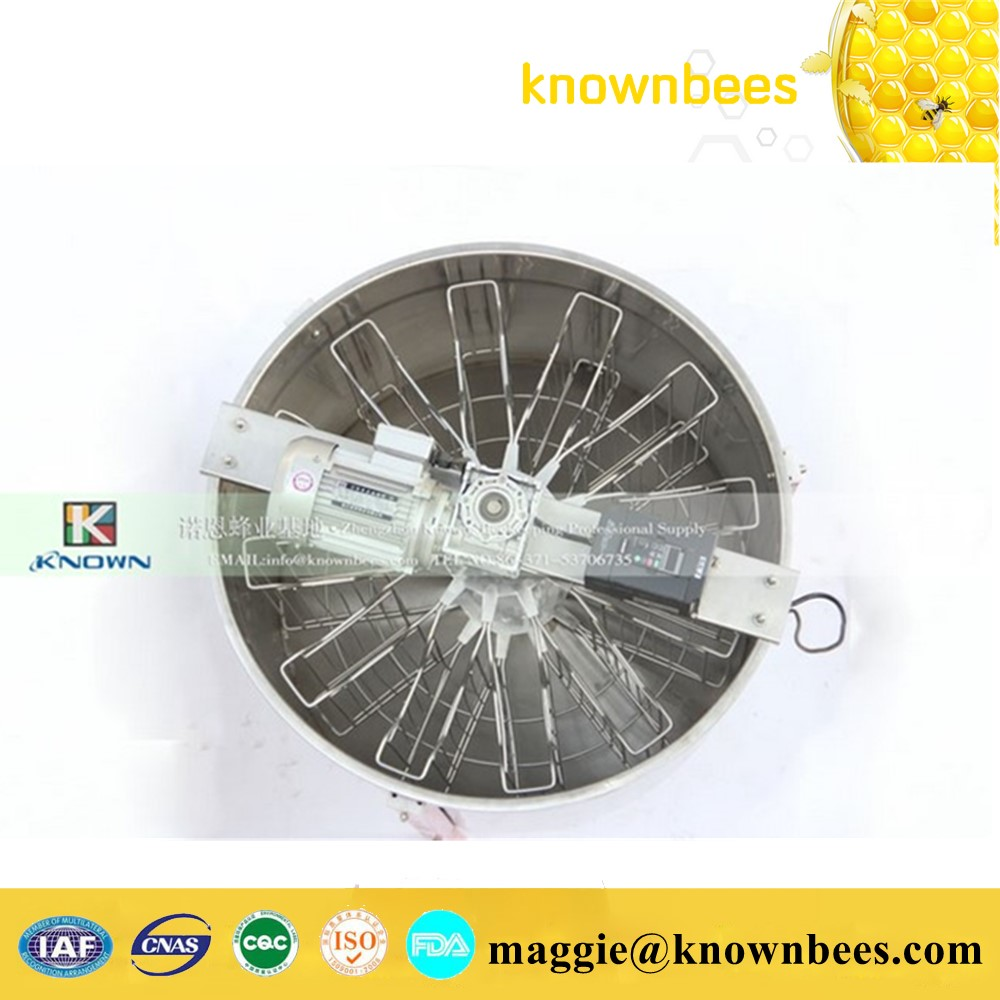 Free Ship by sea Popular in America full Stainless Steel reversible 12 frames Honey Extractor